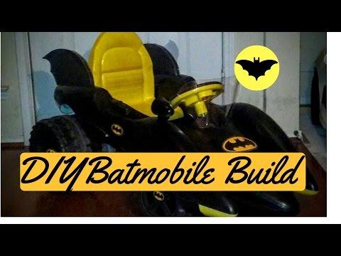 DIY Custom Batmobile Power Wheels Transformation Build