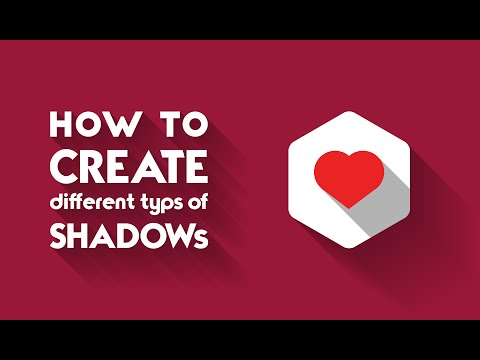 How to create shadow easily in illustrator