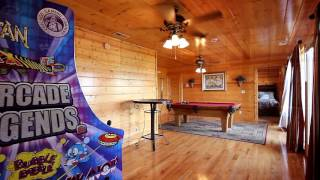 """""""great Aspirations"""" Large, 8-bedroom Group Cabin With Pool - Cabins Usa 2016"""