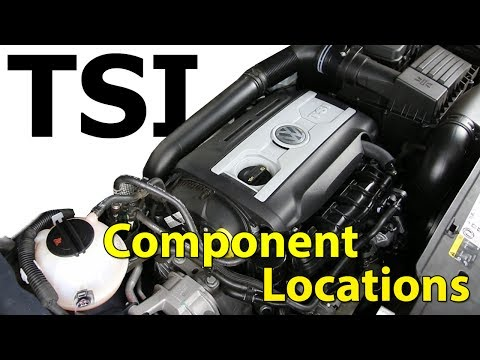 2.0t TSI VW Engine Component Location