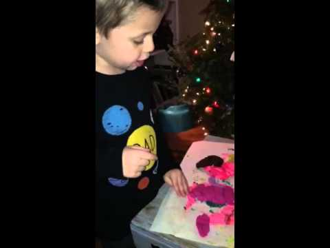 Ben-Christmas time, digestive system with clay