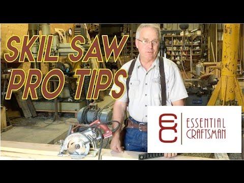 Skil Saw Pro Tips