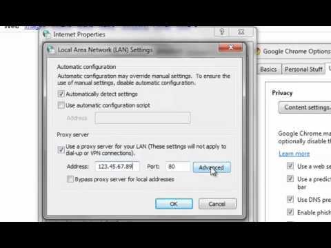 How to Configure Google Chrome with a Proxy Server