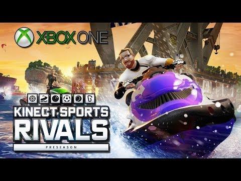 Kinect Sports Rivals Preseason - Wake Racing (Xbox One Gameplay)