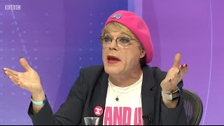 WATCH: Audience Member Tells Eddie Izzard to Shut Up When He Interrupts Farage