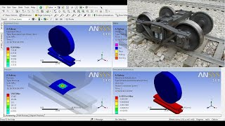 ANSYS Structural Analysis #07 How to analyse LOAD ACTING ON
