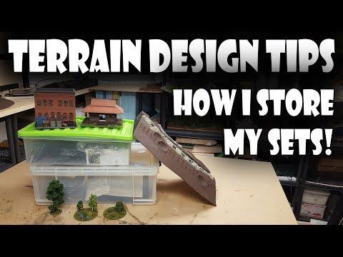 Pro Tips - How I store my Terrain!