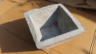193# Cement  pots mold || घर पर गमला बनाने के लिये