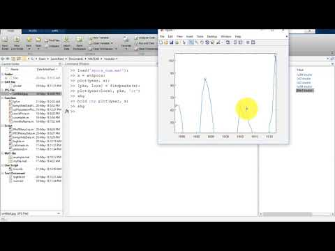 47 MATLAB Tutorial for Beginners- How to Get Peaks of a Signal in MATLAB
