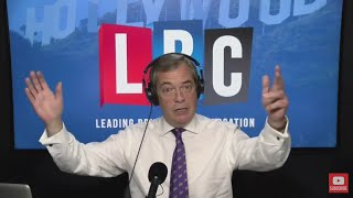 The Nigel Farage Show: Are the global elite trying to stop Brexit? LBC - 17th October 2017