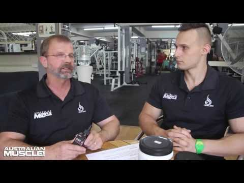 Australian Muscle AMP-V Fat Loss Supplement Review!