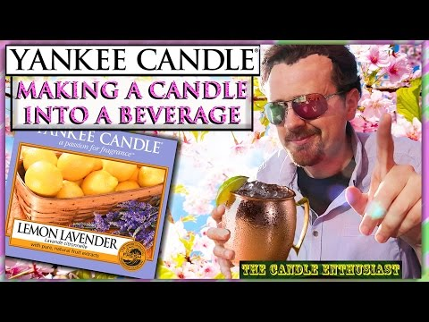 YANKEE CANDLE Beverage/Cocktail | LEMON LAVENDER | Review | Classic SPRING Fragrance - Analysis 2017