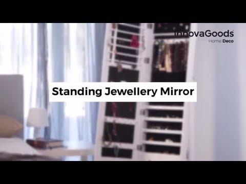 InnovaGoods Home Deco Standing Jewellery Mirror