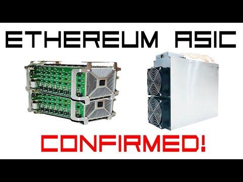 Ethereum Asic Miner Confirmed. Bitmain E3 180MH/s 800W $800
