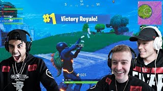 FaZe Gaming House FIRST FORTNITE VICTORY!