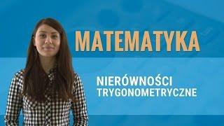 równania i nierówności trygonometryczne