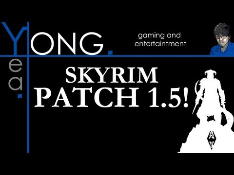 Skyrim Patch 1.5 Trailer - Ranged & Magic Killcams, Wrestling Moves, Tons of Fixes!