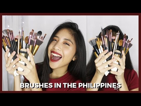 BEST AFFORDABLE BRUSHES (2017 Philippines) | Nicole De Leon