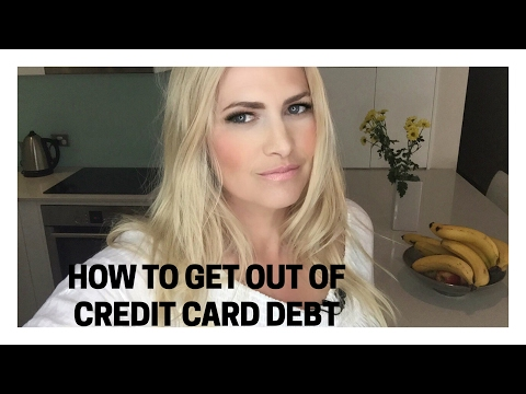 How To Get Out Of Credit Card Debt