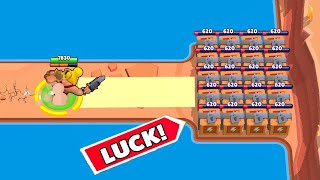 *LUCKIEST* SHOWDOWN PLAYER EVER!!!Brawl Stars Funny Moments & Glitches & Fails #368