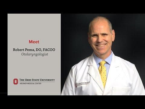 Meet otolaryngologist Robert Pema, DO, FACOO | Ohio State Medical Center