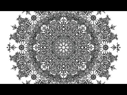 Creating A Mandala Structure Using Adobe Illustrator Cc