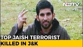 Jaish Terrorist, Said To Be Srinagar Attack Mastermind, Killed In Kashmir
