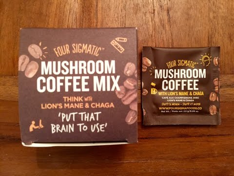 Four Sigmatic: Mushroom Coffee Mix with Lion's Mane Review