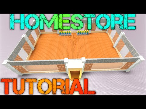 ROBLOX Building Tutorial: How to Make a Homestore! (Best 2015 Commentary)