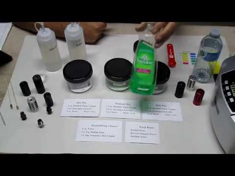 How to Prepare Your Compensator Cleaning Solution