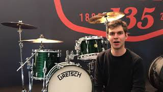 I Play Gretsch Drums!