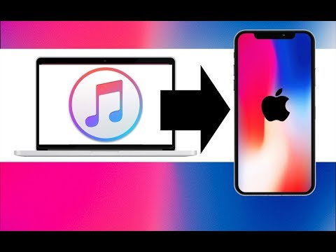 How to Transfer Music from Macbook to iPhone SE iPhone 6S iPhone 7 iPhone 8 iPhone X