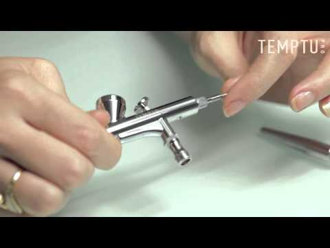 TEMPTU Pro SE-50 Airbrush Cleaning and Assembly