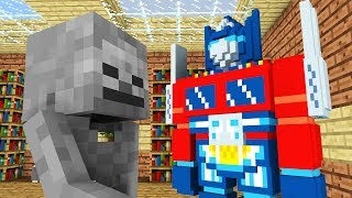 Monster School: Transformers -- Cubic Minecraft Animation