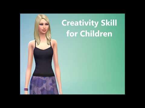 Sims 4 FAQ - Creativity Skill for Children