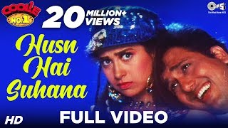 Husn Hai Suhana Video Song , Coolie No. 1 , Govinda & Karisma Kapoor , Abhijeet & Chandana Dixit