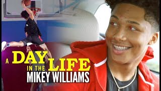 Mikey Williams Life As a Superstar 8th Grader | Day In The Life
