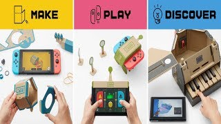 Nintendo Labo combines the magic of Nintendo Switch with the fun of DIY creations.