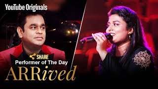 A. R. Rahman   Amrita Talukder   Performer Of The Day   #ARRivedSeries