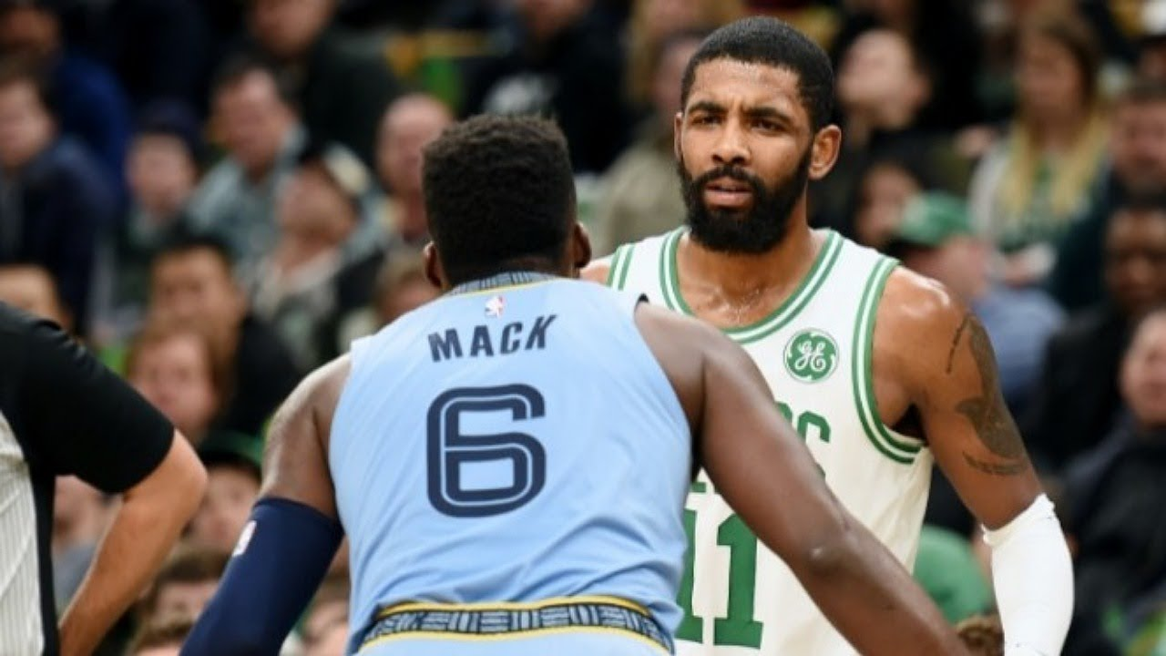 KYRIE IRVING HEATED MOMENTS