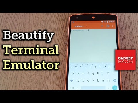 Get a Material Design Terminal Emulator for Android [How-To]