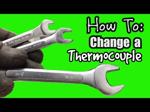 HOW TO REPLACE A THERMOCOUPLE ON A WATER HEATER DIY