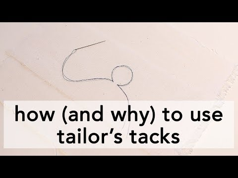 How (and why) to use Tailor's Tacks   Vintage on Tap