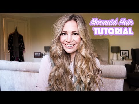 Mermaid Hair Tutorial   Anna Saccone