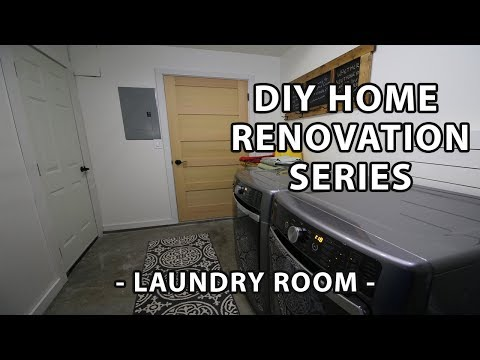 Laundry Room Updates- Part 1