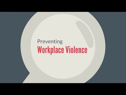 Preventing Workplace Violence | 360training.com Video
