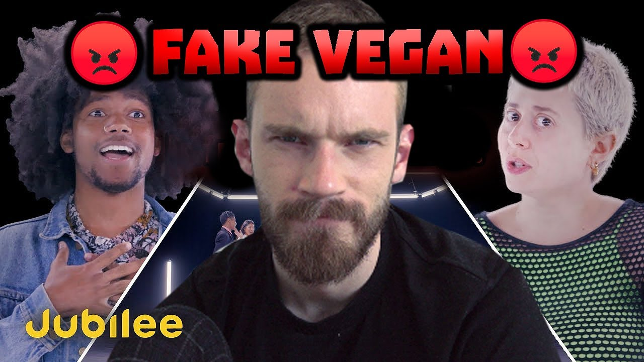 6 Vegans Vs 1 Meat Eater - Jubilee React #6