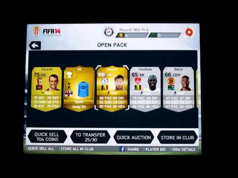 FIFA 14 IOS - MY BEST PACK EVER!!! Opening 10x35K Packs!