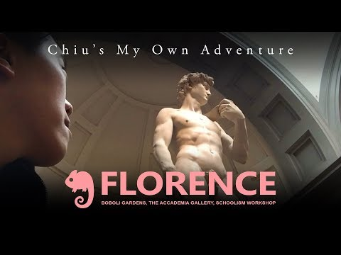 Vlog Florence: Boboli Gardens, The Accademia Galler, Schoolism Workshop
