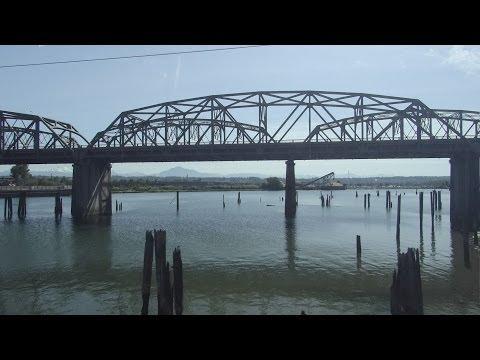 Seattle, Washington to Vancouver, British Columbia - Amtrak Cascades HD (2014)